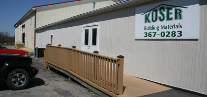 Koser Building Materials And Auctions Central Pa
